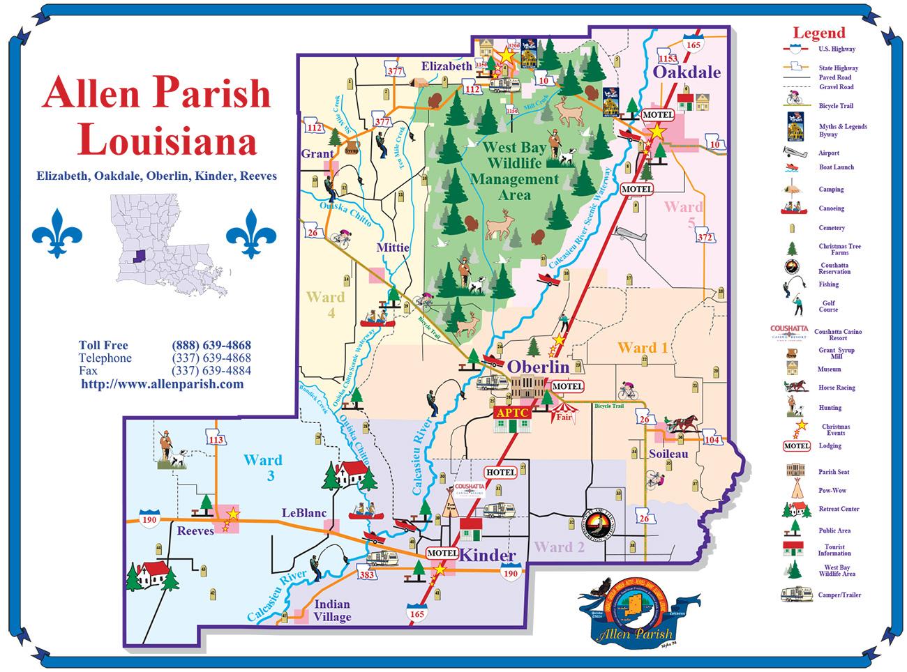 Plan Your Trip Allen Parish